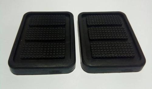 capa pedal troller ate 2014 kit 2 peças