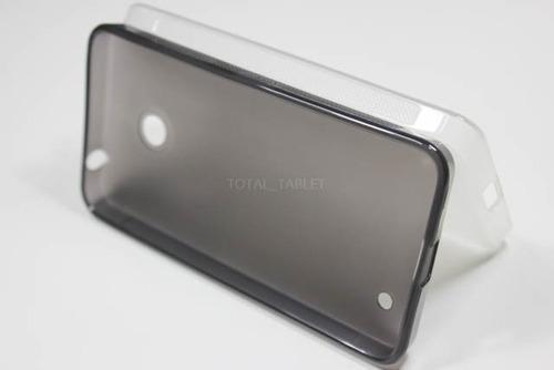 capa + película de vidro temperado nokia lumia 630 dual
