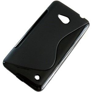 capa + pelicula p/ nokia lumia 640 case tpu