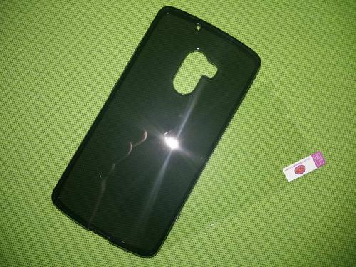 capa + pelicula vidro celular lenovo vibe a7010 frete 9,00