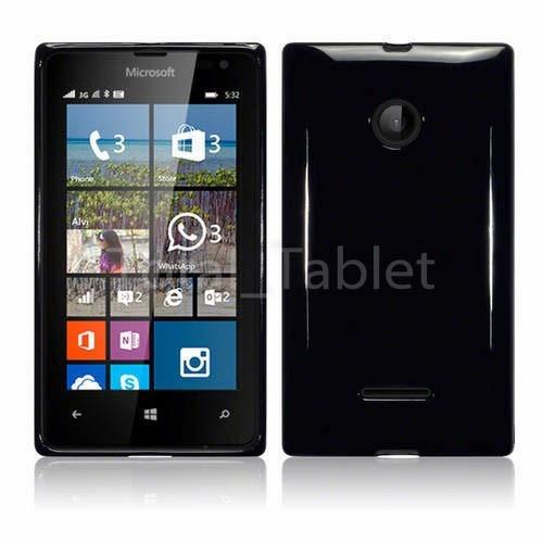 capa + película vidro temperado nokia lumia 532 e 532 dual
