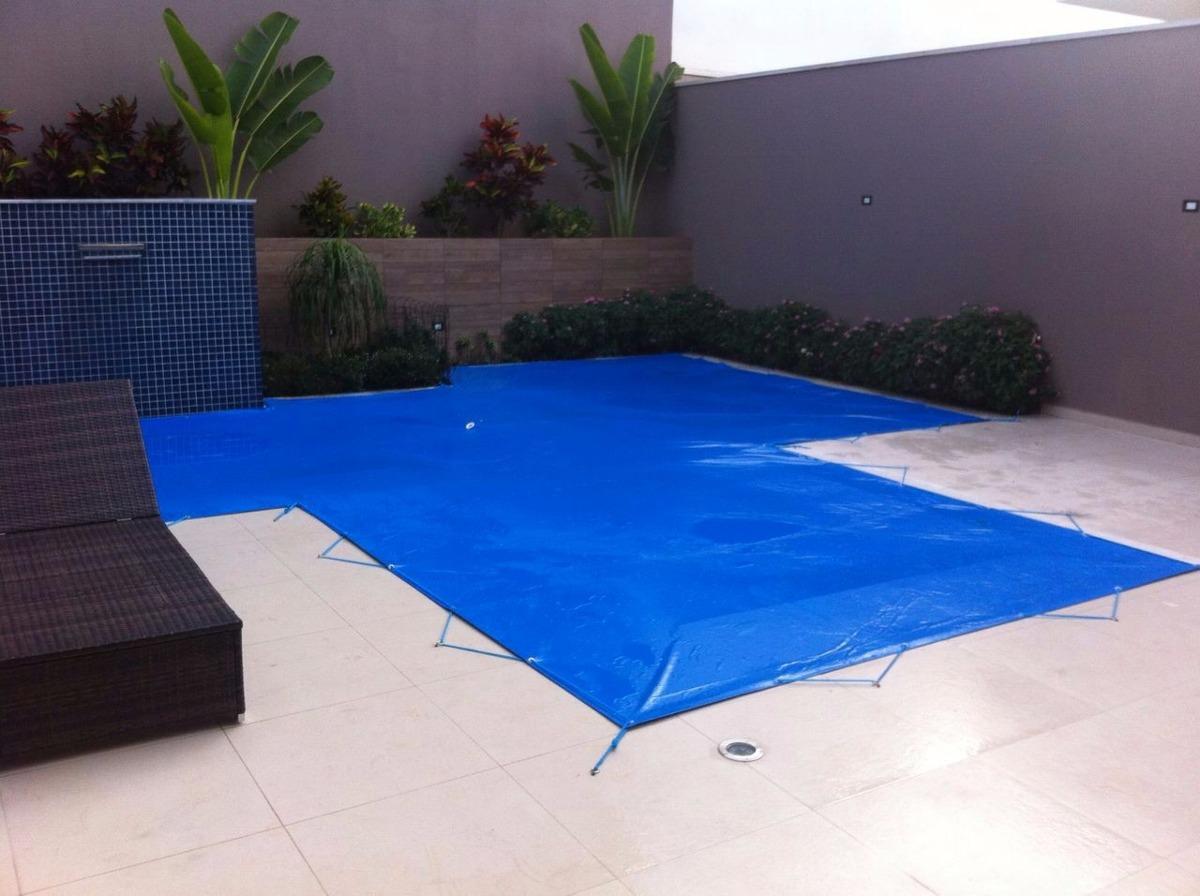 Capa piscina 8x4 m prote o piscina suporta peso 410micras for Piscina 5x4