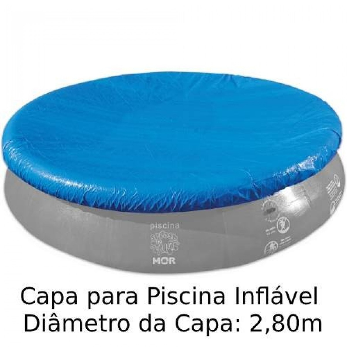 Capa piscina redonda de diametro 3400 litros r 52 for Piscina 5 metros diametro