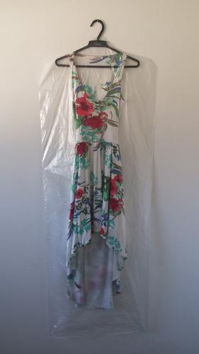 capa plástica para vestido - 1.30 cm - 100 peças