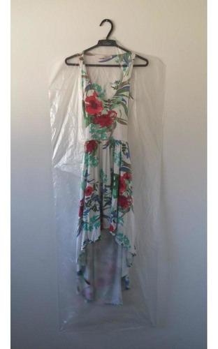 capa plástica para vestido - 1.80 cm - 100 peças