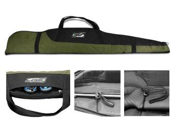 capa porta carabina de pressãoc/luneta 1,20 almofadada