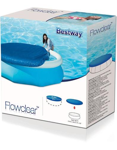 capa pra piscina 2.44 cm bestway e diversas marcas