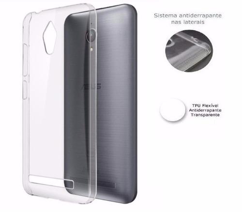 capa  premium anti impacto asus zenfone go zc500tg