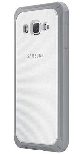 capa premium samsung cover original galaxy a5 2015 - branca c/ cinza