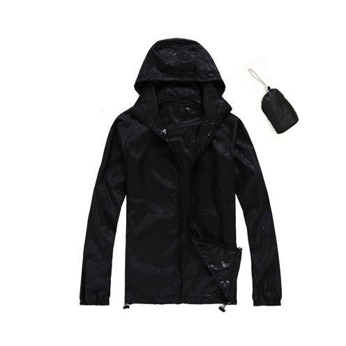 capa preta de chuva xxl poliester resistente leve compacta r 65