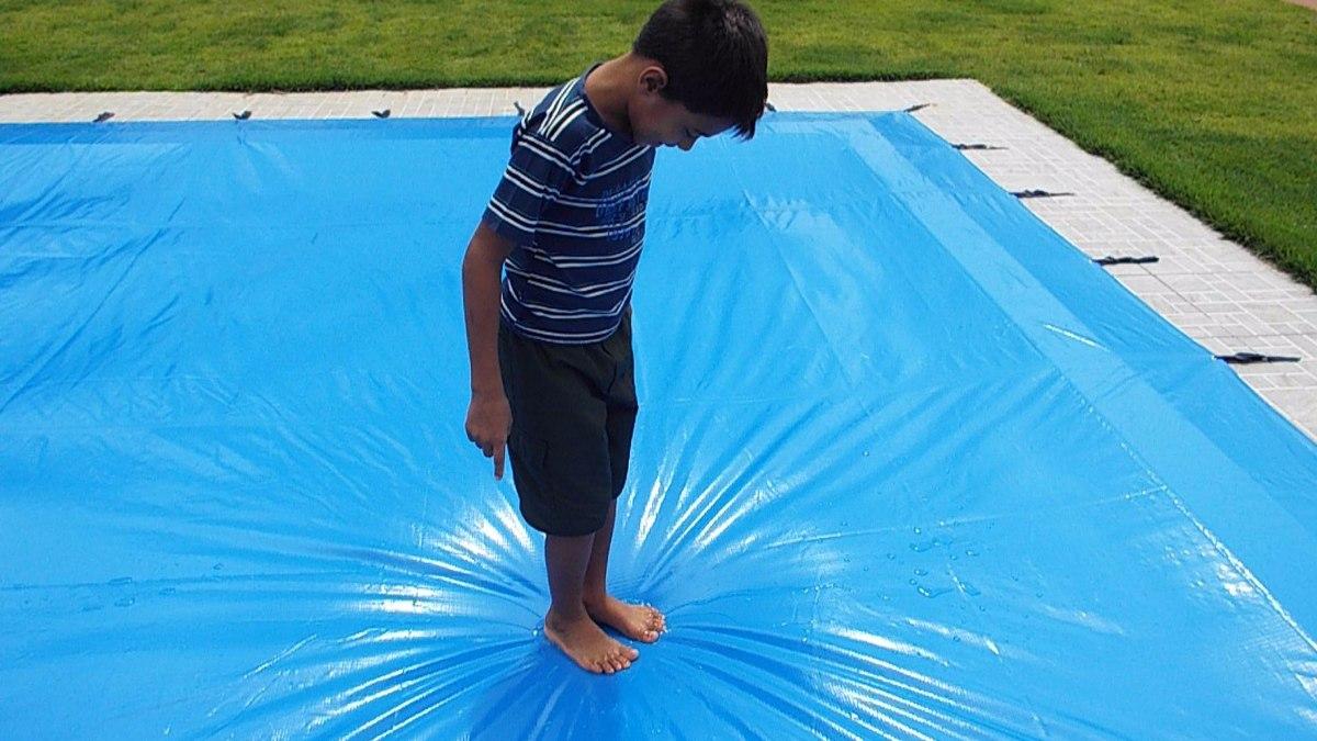Capa prote o 5 00 x 3 00 para piscinas de at 4 50 x 2 50 for Piscina 4 x 2