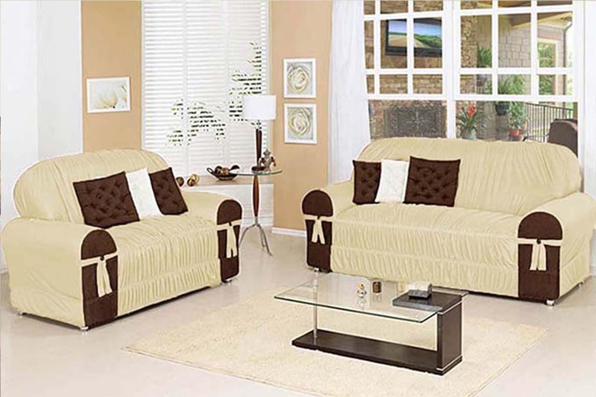 Sofa Glamour 2 E 3 Lugares Varios Cores
