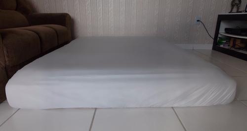 capa protetor  colchao  imperm,  ziper solt kit c 5+5