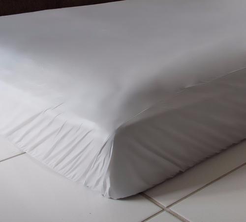 capa protetor  colchonete   imperm,  ziper solteiro