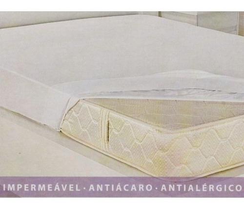 capa protetor de colchão solteiro  elástico 2