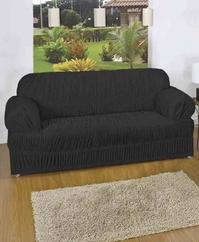 capa protetor de sofa 3 lugares avulsa promoção 21 elasticos