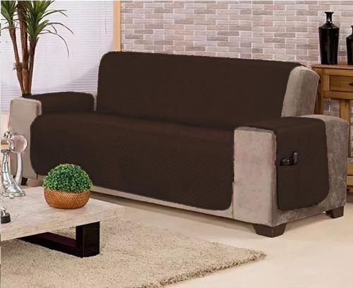 capa protetor de sofá sob medida de 0,55 a 1,10m