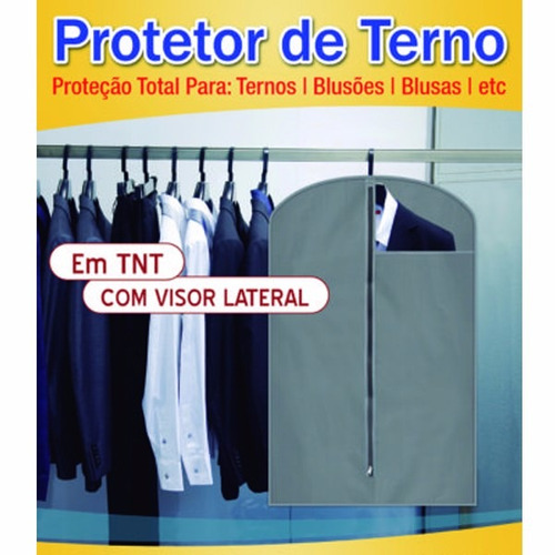 capa protetor de terno blusões blusas com visor 100% tnt
