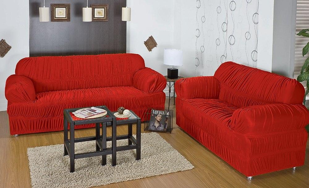 9fddd68d0 capa protetor sofá malha 21 elásticos 2 , 3 l +5 capas almof. Carregando  zoom.