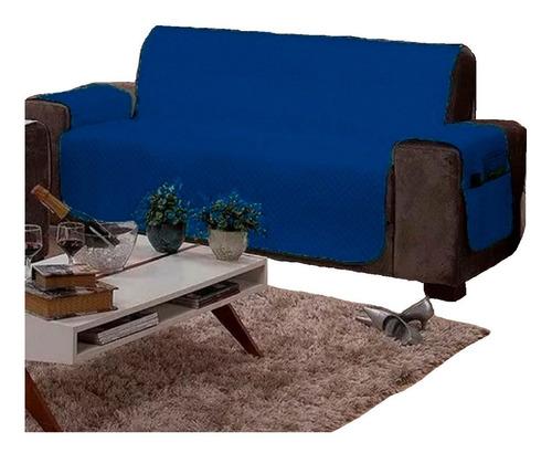 capa protetor sofá sob sobre medida 3 lug retrátil 2,80x1,80