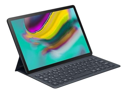 capa protetora com teclado samsung galaxy tab s5e preta