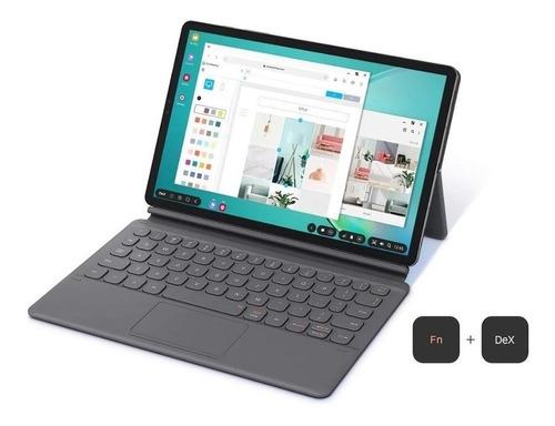 capa protetora com teclado samsung galaxy tab s6 preta