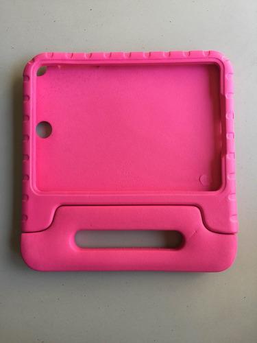 capa protetora criança kids galaxy tab e 9.6 rosa