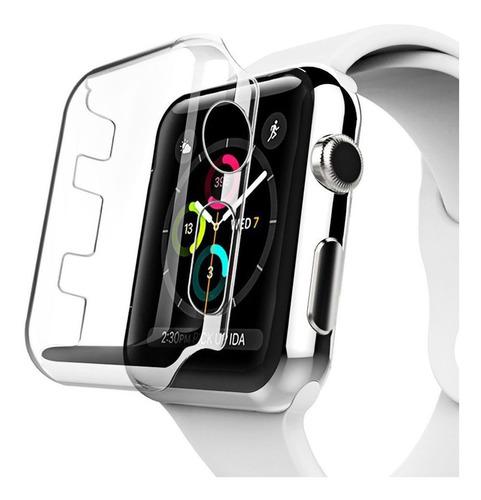 capa protetora de acrílico para apple watch 42mm