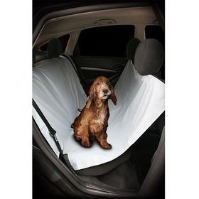 Capa Protetora De Banco Para Carro Gato Cachorro Capa Preta