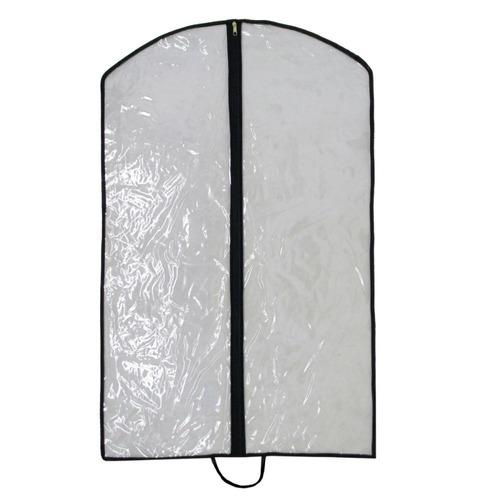 capa protetora de plástico com zíper p roupas terno vestido