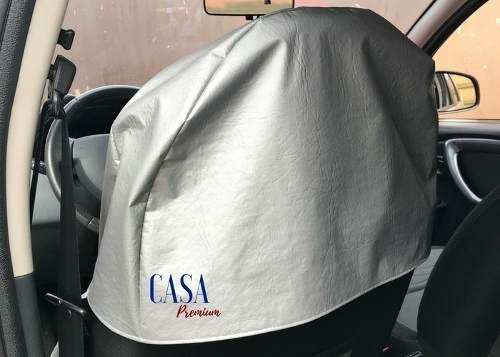 capa protetora impermeável banco carro corino mecânico suor