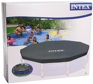 Capa protetora intex 366 cm tampa piscina estrutural for Alberca intex redonda