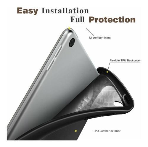 capa protetora ipad 6 2018 9.7' a1893 a1954 c/ porta caneta