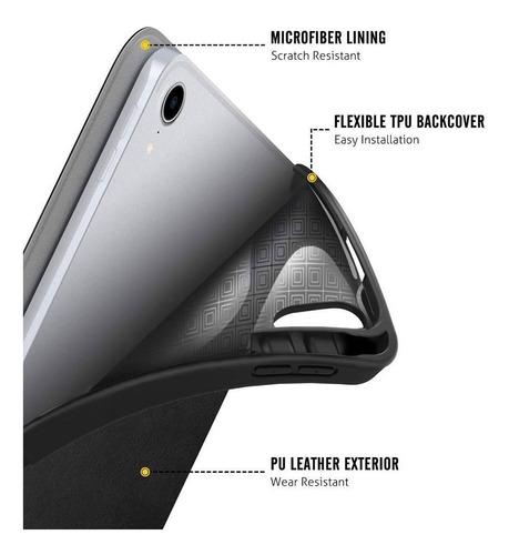 capa protetora p/ new ipad pro 11 2018 c/ slot apple pencil