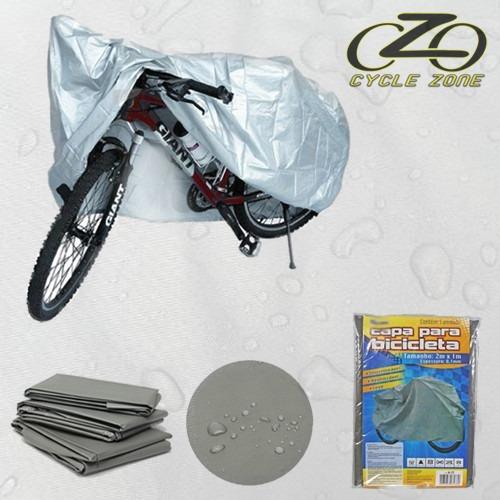 0ff9a9451 Capa Protetora Para Bike Bicicleta Impermeável - Sol E Chuva - R  29 ...