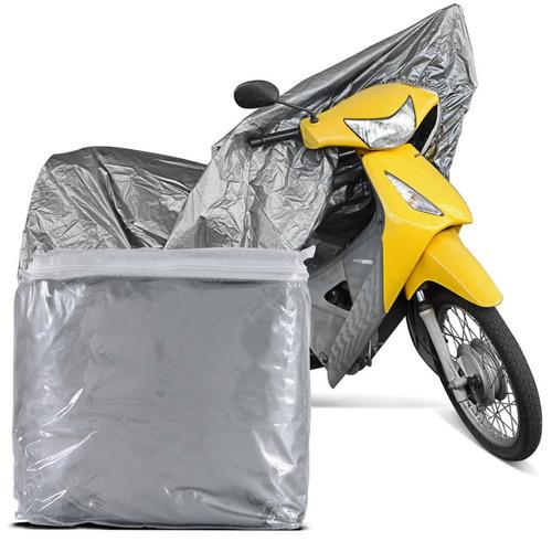 capa protetora para cobrir moto 100% impermeável p fan