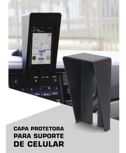 capa protetora para suporte celular sol claridade calor