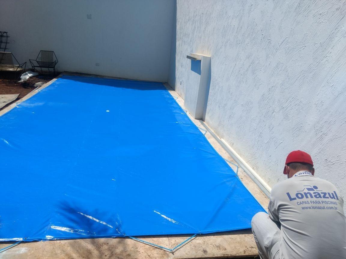 39aedd0f Capa Protetora Piscina 6x10 Azul - R$ 1.190,00 em Mercado Livre