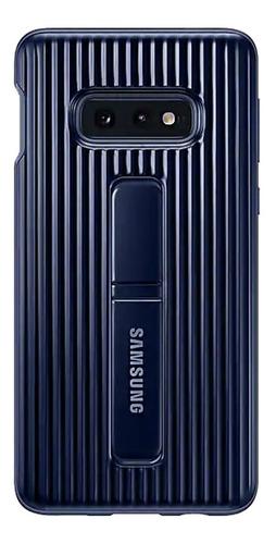 capa protetora samsung galaxy s10e protective stand azul