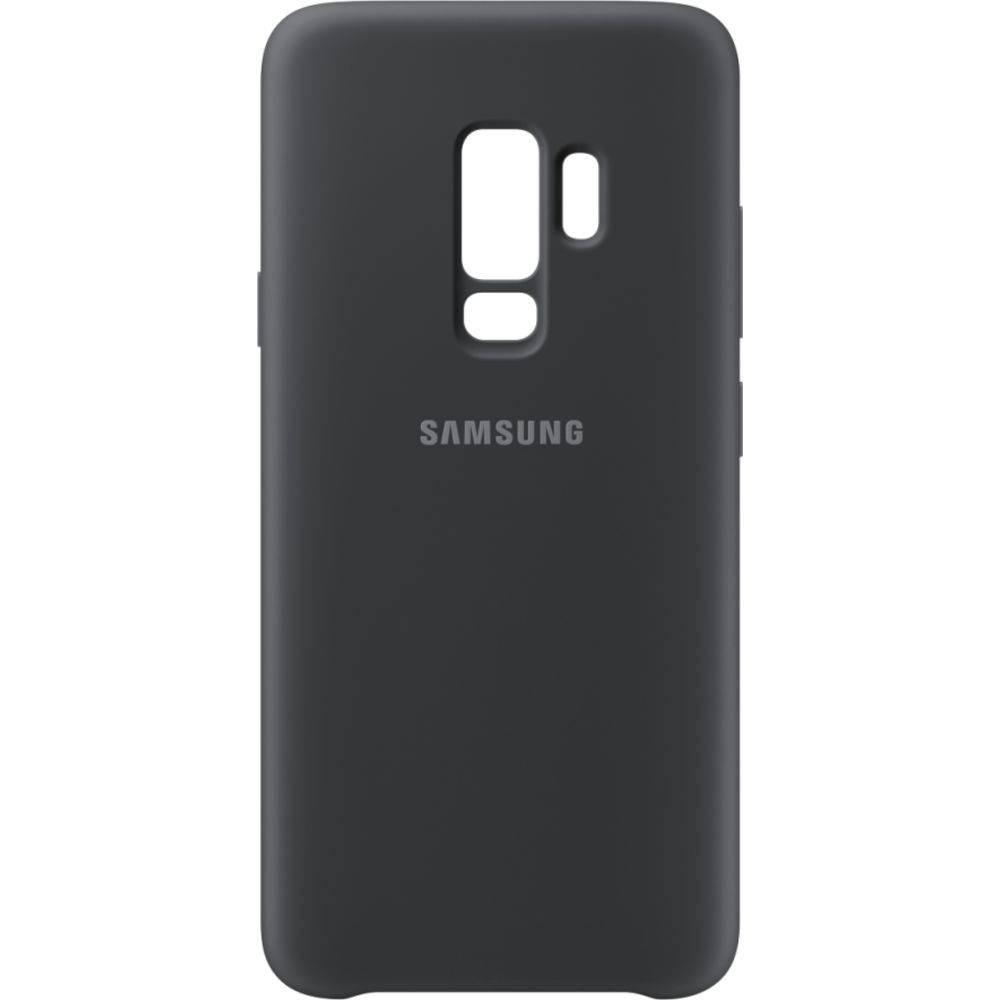 eb16a32286 capa protetora samsung galaxy s9 plus silicone cover preta. Carregando zoom.