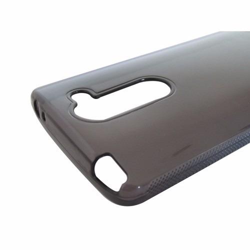 capa protetora tpu fumê + transparente lg l prime d335 d337
