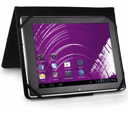capa protetora universal para tablet 7 polegadas dobrável