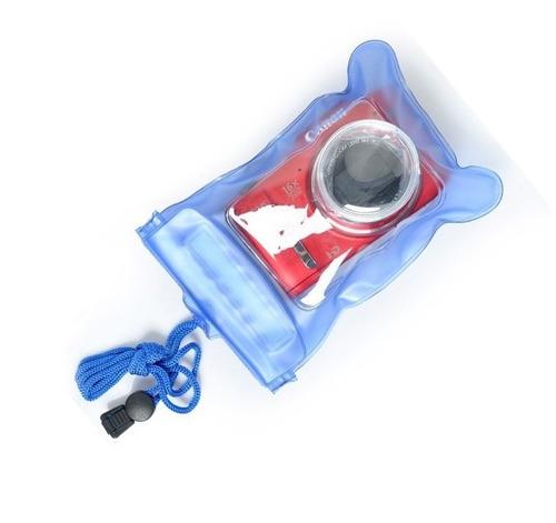 capa prova d'água câmera digital bolsa estanque frete r$8,00