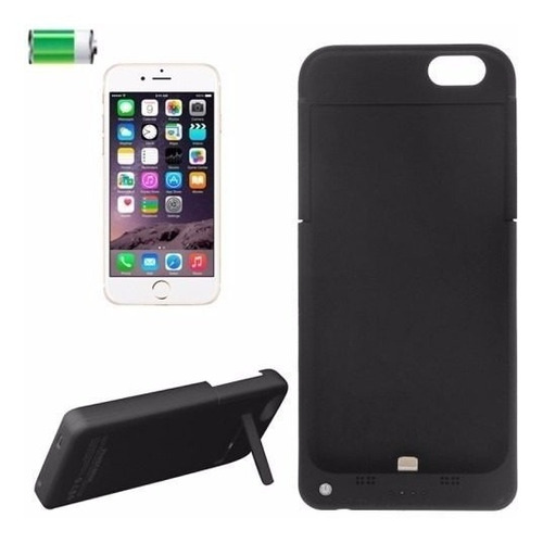 capa recarregável iphone 6 6s 7 8 bateria extra power bank