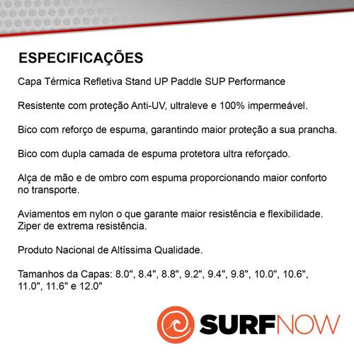 capa refletiva térmica sup performance de 8.2 a 8.10
