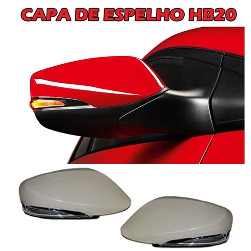 capa retrovisor c/ pisca led hb20 2012 2013 2014 2015 2016