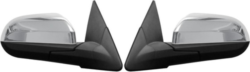 capa retrovisor cromada gm onix/ prisma 13/... 2 pçs