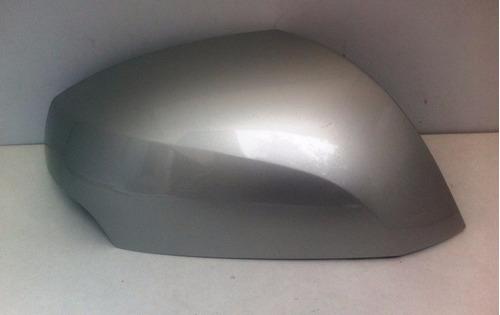 capa retrovisor renault fluence lado direito prata original