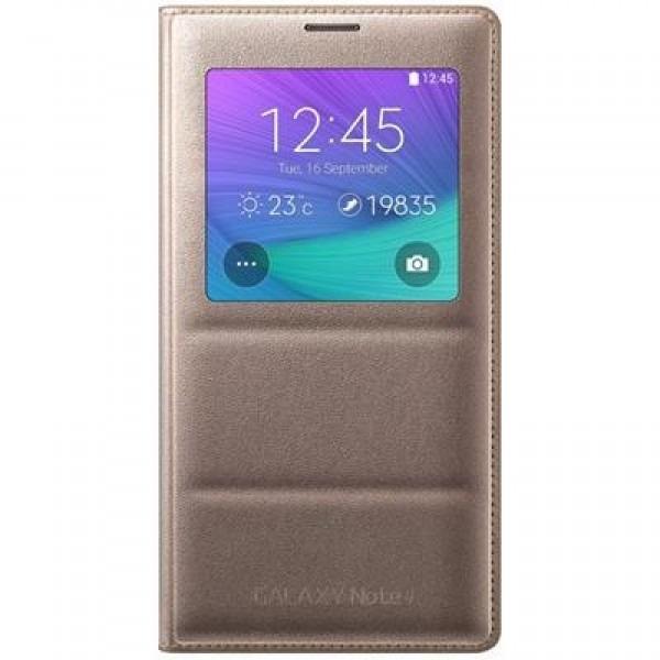 490efd369 Capa S View Galaxy Note 4 Bronze Original Samsung - R  169