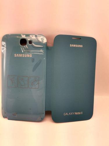 separation shoes cf0af 7e66a Capa - Samsung Galaxy Note Ii - Flip Cover - Original
